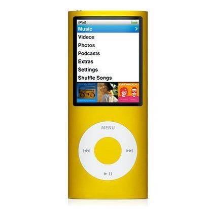 MP3 přehrávač iPod Nano 4th 4GB - MP3 prehrávač