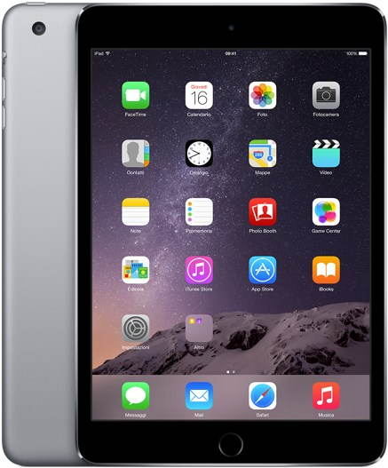 iPad mini 3 s Retina displejom 16GB Wifi Space Gray - Tablet