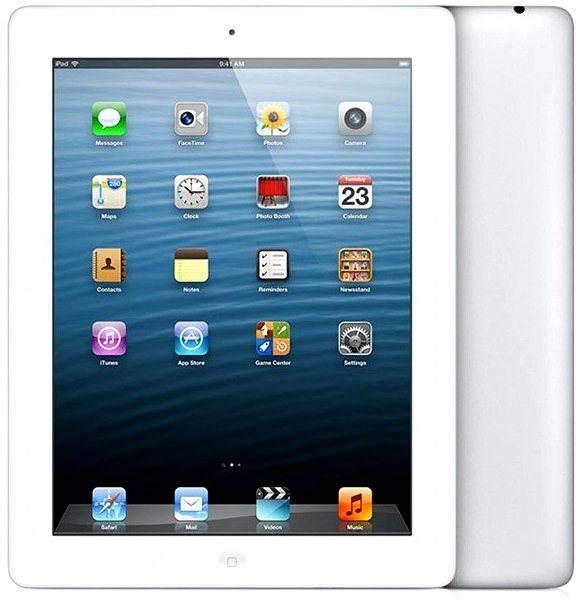 iPad s Retina displejem 128GB WiFi White - Tablet
