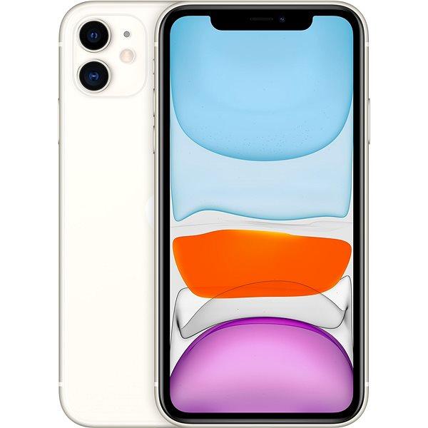 iPhone 11 256 GB biela - Mobilný telefón