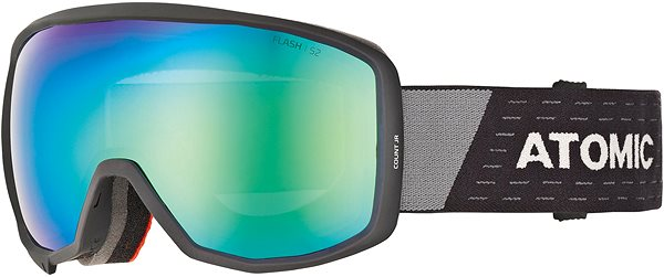 999f97921 Atomic Count Jr Spherical Black/Grey - Lyžiarske okuliare | alza.sk