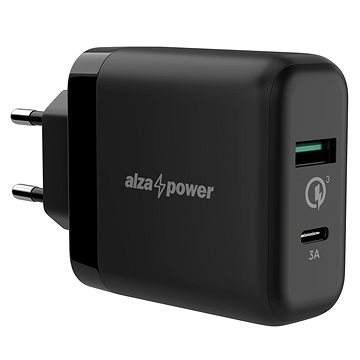 AlzaPower Q200C Quick Charge 3.0 černá - Nabíjačka do siete