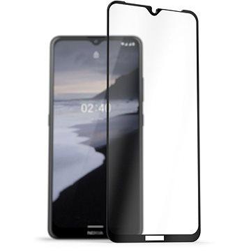 AlzaGuard 2.5D FullCover Glass Protector na Nokia 2.4 čierne - Ochranné sklo