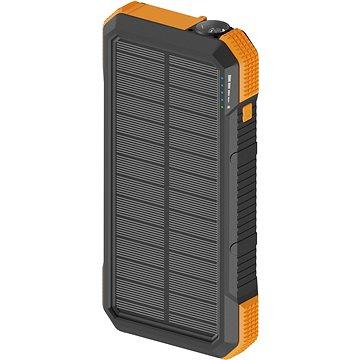 AlzaPower SolarScout 20 000 mAh oranžová - Powerbank