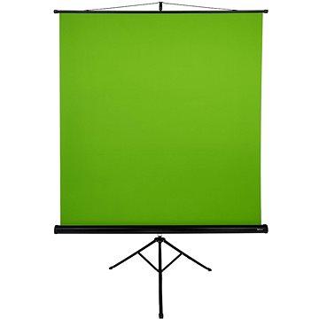 Arozzi Green Screen, mobilná trojnožka 157 × 157 cm (1 : 1) - Premietacie plátno