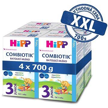 HiPP 3 Junior Combiotik 4× 700 g - Dojčenské mlieko