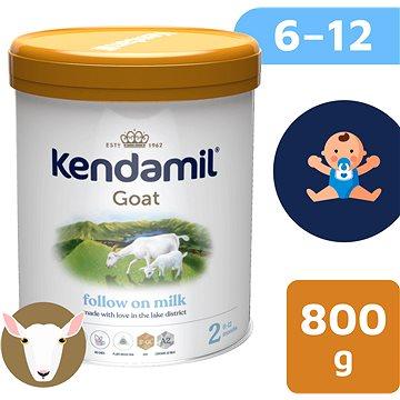 Kendamil Kozie pokračovacie mlieko 2 DHA+ (800 g) - Dojčenské mlieko