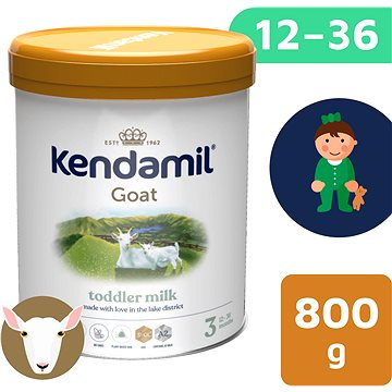 Kendamil Kozie dojčenské mlieko 3 DHA+ (800 g) - Dojčenské mlieko