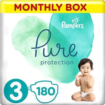 PAMPERS Pure Protection veľ. 3 (180 ks) - Detské plienky