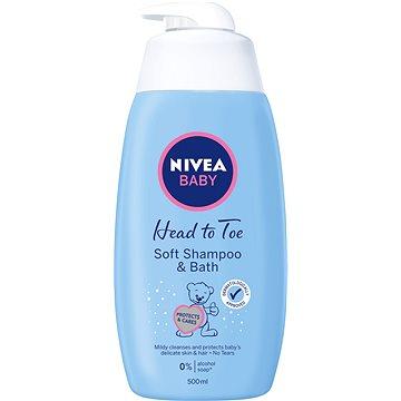 Nivea Baby Soft Shampoo & Bath 500 ml - Detská pena do kúpeľa
