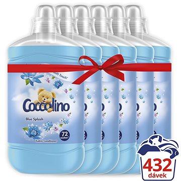 COCCOLINO Blue Splash 6× 1,8 l (432 praní) - Aviváž