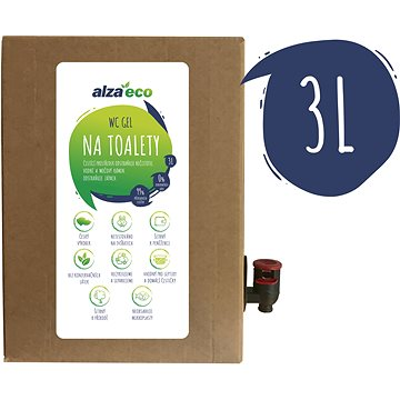 AlzaEco na toalety 3 l - Ekologický čistiaci prostriedok