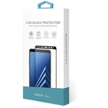 Epico Glass 2.5D na Samsung Galaxy M10 – čierne - Ochranné sklo
