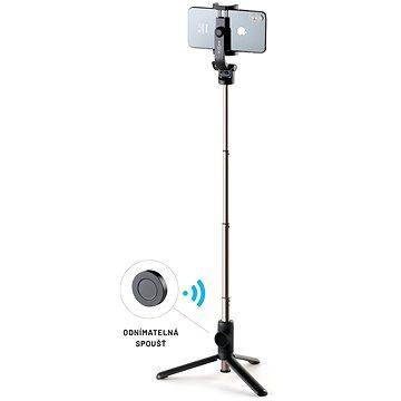 """FIXED Snap s tripodom a bezdrôtovou spúšťou, 3/4"""" závit čierny - Selfie tyč"""