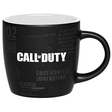 Call of Duty: Black Ops Cold War Mug – Top Secret Documents – hrnček - Hrnček