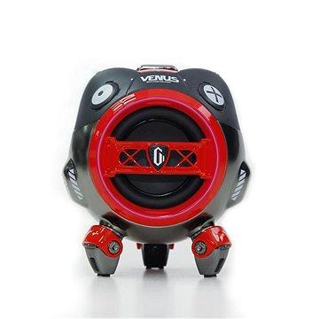 Gravastar Venus, červený - Bluetooth reproduktor