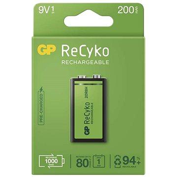GP ReCyko 200 (9 V), 1 ks - Nabíjateľná batéria