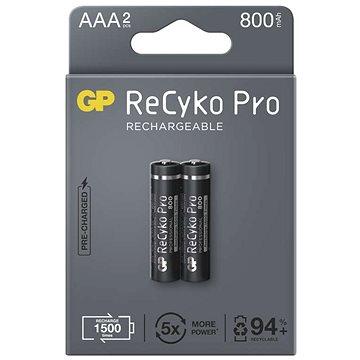 Nabíjacia batéria GP ReCyko Pro Professional AAA (HR03), 2 ks - Nabíjateľná batéria
