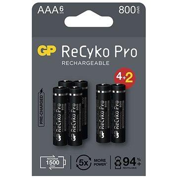 Nabíjacia batéria GP ReCyko Pro Professional AAA (HR03), 6 ks - Nabíjateľná batéria