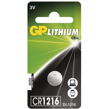 GP CR1216 1 ks - Jednorázová batéria