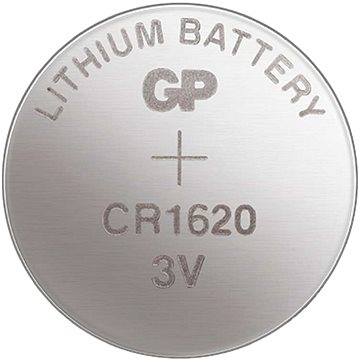 GP Lítiová gombíková batéria GP CR1620 - Gombíkové batérie