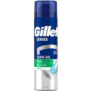 GILLETTE Series Sensitive Aloe 200 ml - Gél na holenie