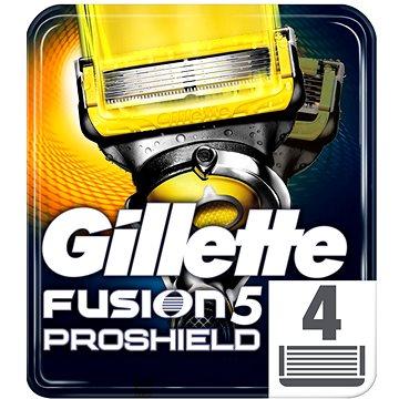 GILLETTE Fusion Proshield 4 ks - Pánske náhradné hlavice