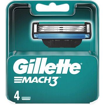GILLETTE Mach3 4 ks - Pánske náhradné hlavice