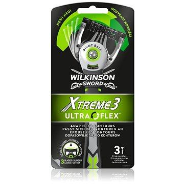WILKINSON Xtreme3 UltraFlex 3 ks - Jednorazové holiace strojčeky
