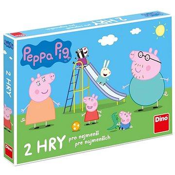 Peppa Pig Poď sa hrať a šmykľavky - Spoločenská hra