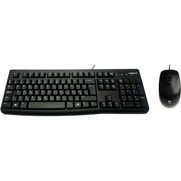 Logitech Desktop MK120 Magyar - Set klávesnice a myši