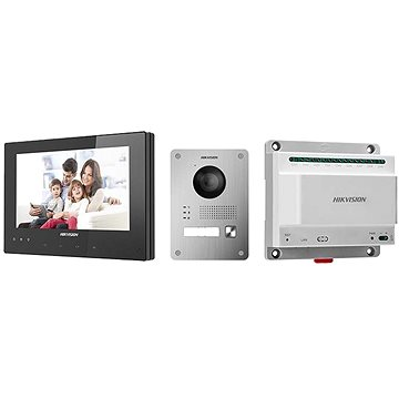 HIKVISION DSKIS701(EU)B DSKV8103IME2 x1 ; DSKH8340TCE2B x1; DSKAD709 x1 - Videovrátnik