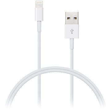 CONNECT IT Wirez Lightning Apple 1m biely - Dátový kábel