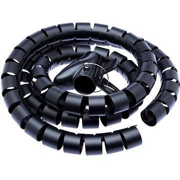 CONNECT IT CableFit WINDER čierna 1.5m - Organizér káblov