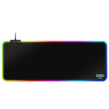 CONNECT IT CMP-3100-LG NEO RGB, čierna - Podložka pod myš