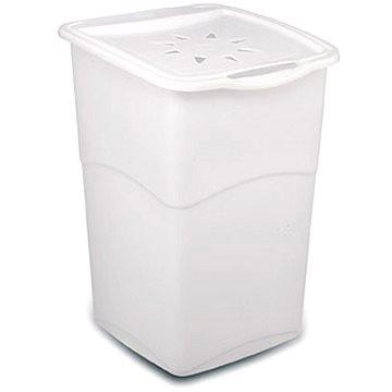 KIS Koral Basket, 47 l, biely - Kôš na bielizeň