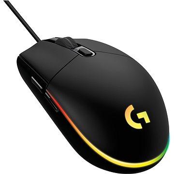 Logitech G203 Lightsync, black - Herná myš