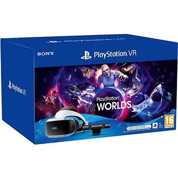 PlayStation VR (PS VR + Kamera + hra VR Worlds + PS5 adaptér) - Okuliare na virtuálnu realitu