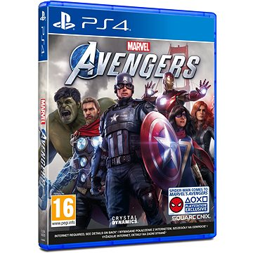 Marvels Avengers – PS4 - Hra na konzolu