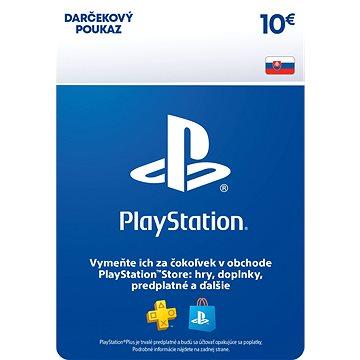 PlayStation Store –  Kredit 10 EUR –  SK Digital - Dobíjacia karta