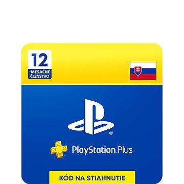 PlayStation Plus 12 mesačné členstvo – SK Digital - Dobíjacia karta