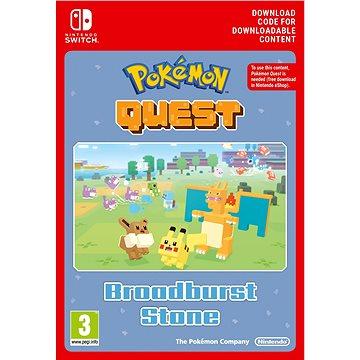 Pokémon Quest Broadburst Stone DLC – Nintendo Switch Digital - Herný doplnok