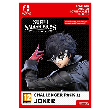Super Smash Bros Ultimate – Joker Challenger Pack – Nintendo Switch Digital - Herný doplnok