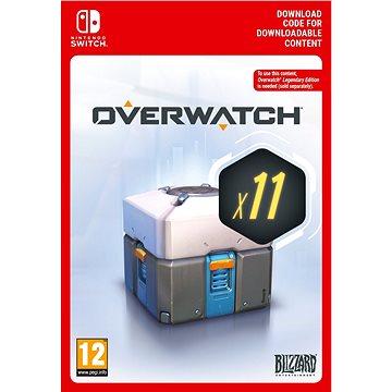 Overwatch 11 Loot Boxes – Nintendo Switch Digital - Herný doplnok