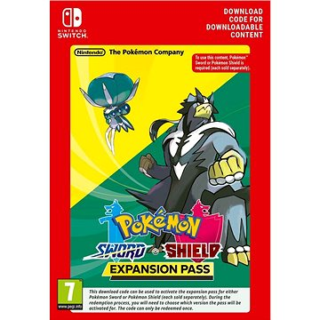 Pokémon Shield/Pokémon Sword Expansion Pass – Nintendo Switch Digital - Herný doplnok