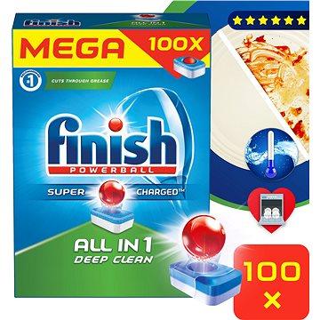 FINISH All-in-1 100 ks - Tablety do umývačky