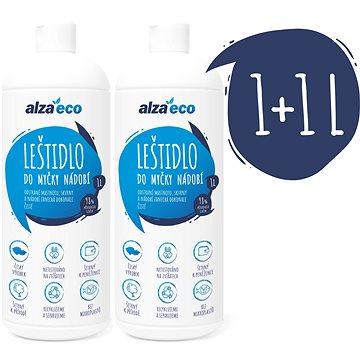 AlzaEco Leštidlo do umývačky riadu  2× 1 l - Eko leštidlo do umývačky