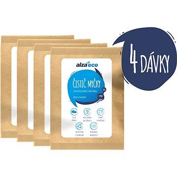 AlzaEco Čistič umývačky riadu 4× 100 g - Eko prášok do umývačky