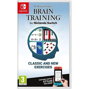 Dr Kawashima's Brain Training – Nintendo Switch - Hra na konzolu