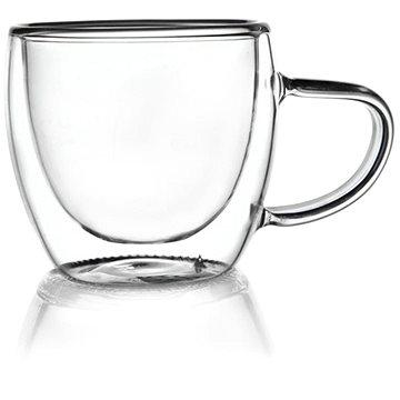 Hrnček dvojstenné sklo 0,11 l - Hrnček